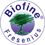 Logotipo de Biofine<sup>®</sup> de Fresenius